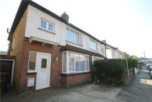 Terraced property to rent in Boundary Road, Chatham...