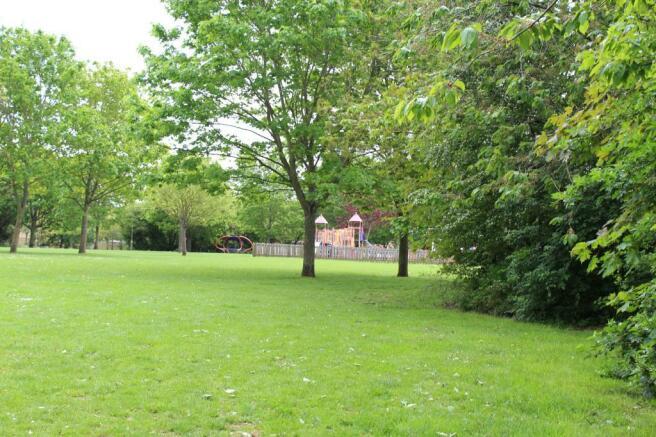 Playground nearby - around 3 minutes away!