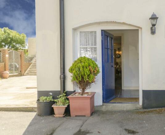 Garden Level/Alternative Entrance Front Door