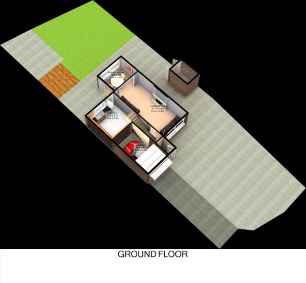 Floorplan 3D (Ground Floor)