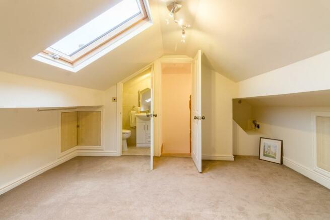 Loft Room with En Suite Room 2