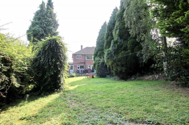 Rear Garden and House