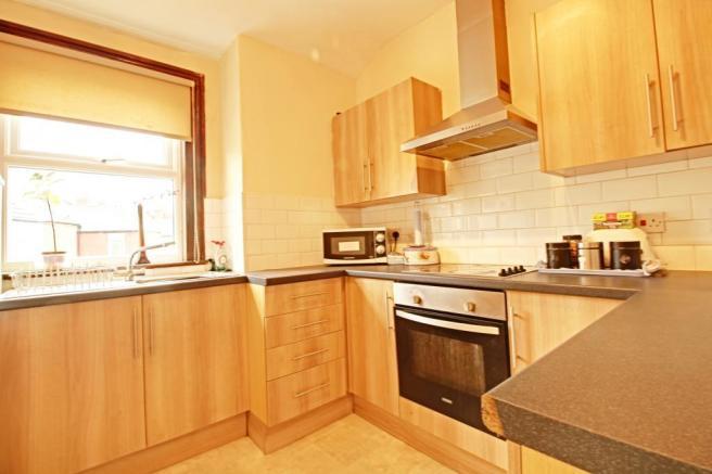 Kitchen for self contained flat