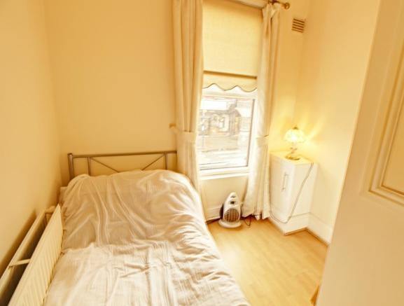 Bedroom 2 is for self contained flat