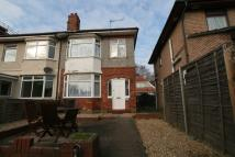 semi detached property in Brassey Road, Winton...