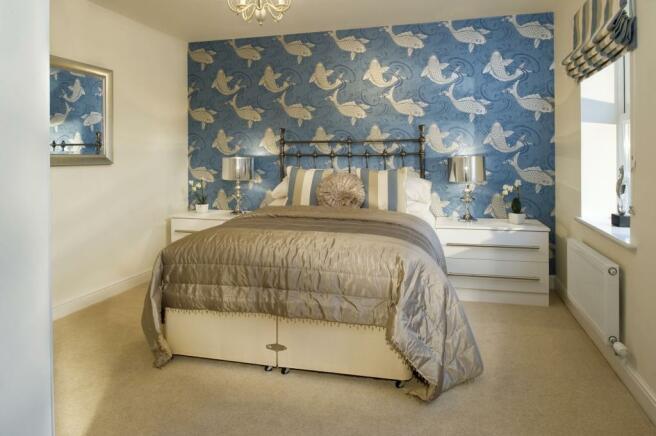The Belstead bedroom