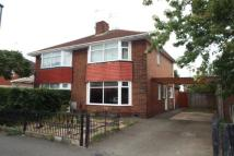 semi detached house in Ellesmere Avenue, Derby
