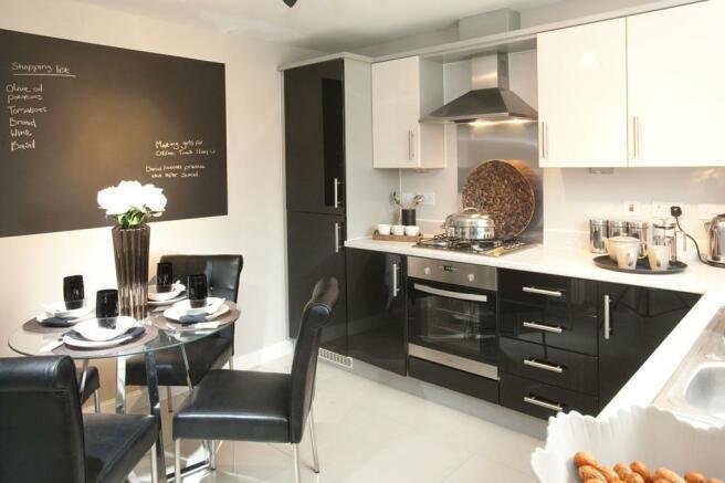 Thornton 4 bedroom house - kitchen interior