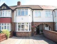 3 bed Terraced house in Amhurst Gardens...
