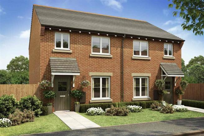 Artist impression of The Gosford at Oakwood Meadows