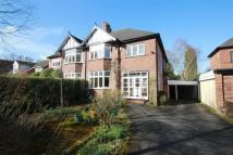 semi detached house for sale in Carlton Road, Hale