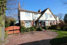 semi detached property in Hale Road, Hale