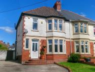 semi detached home for sale in New Road, Rumney...