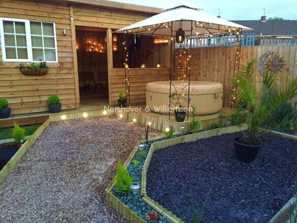 Timber Built Entertaining Area