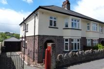semi detached property for sale in Camden Road, Brecon...