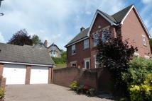 Detached house in School Gardens, Brecon...
