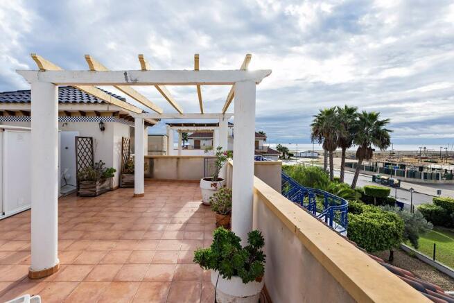 Roof terrace & views