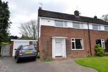 3 bed semi detached property in Willow Drive, Wilmslow,