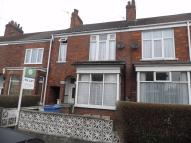 Terraced house in Park Avenue, WITHERNSEA...