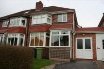 semi detached property in West Park Avenue...