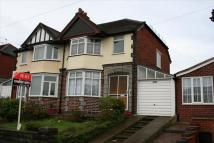 3 bed semi detached home to rent in Bristol Road South...