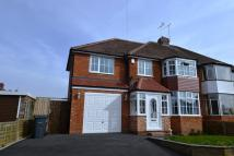 4 bedroom semi detached house to rent in Wyche Avenue...
