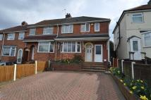 semi detached home to rent in Coombes Lane, Longbridge...