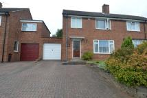 semi detached house in Long Mynd Road...