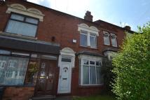 2 bed Terraced house in Ridgeway, Edgbaston...