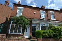 Terraced property in Victoria Road, Stirchley...
