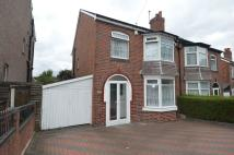 3 bedroom semi detached home in Redditch Road...