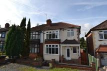 3 bed semi detached property in Wolverhampton Road...