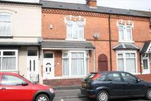 3 bed Terraced home in Cheshire Road, Smethwick...