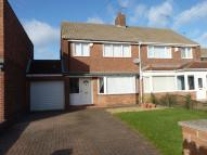 3 bed semi detached house in Cresswell Close...