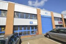 property to rent in Unit 41 Wessex Trade Centre, Ringwood Road, Poole, BH12 3PG