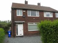 semi detached home in Hobson Crescent...