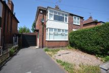 2 bedroom semi detached house in WHITMORE ROAD, CHADDESDEN