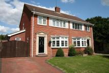 3 bedroom semi detached home for sale in Chestnut Rise...