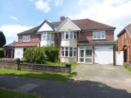semi detached home in SHIRLEY ROAD, HALL GREEN...