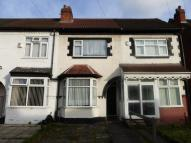 3 bedroom Terraced property in BROMYARD ROAD, SPARKHILL...