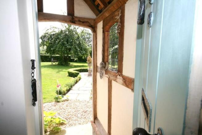 View through Porch.
