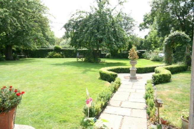 Front Garden Path.