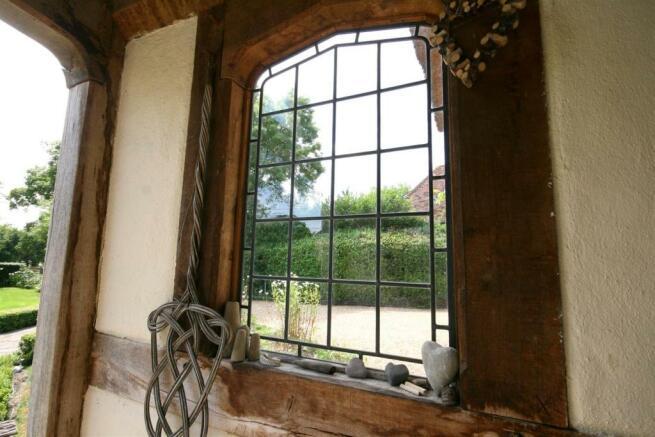 Porch Window.