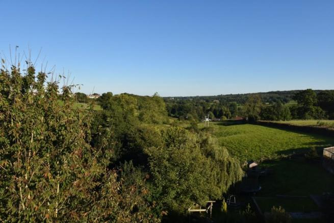 View to rear from master bedroom window -old school House Coleford marketed with Pritchards Bath