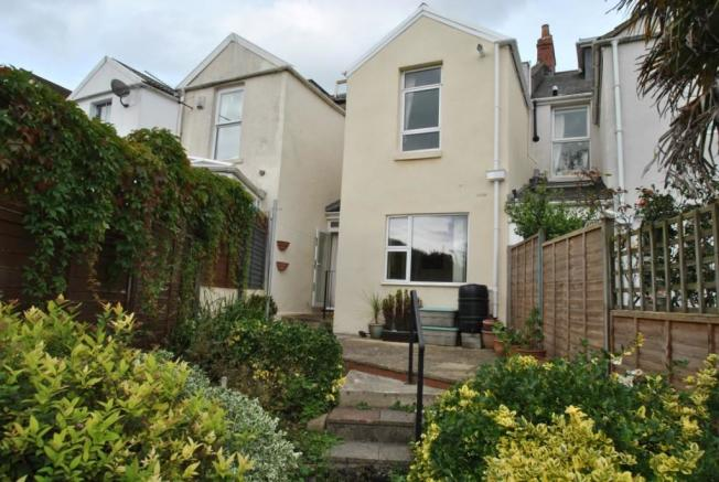 Picture of rear elevation of house for sale in Mount View, Lansdown Bath