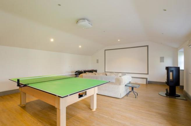 The Stables, Chelsey Hill, Wick, Cinema/Games Room