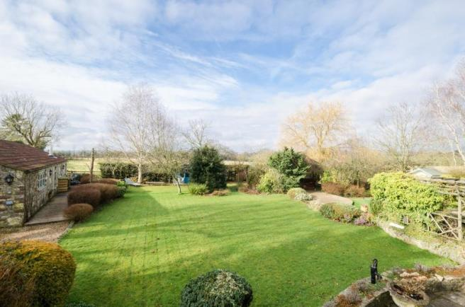 The Stables, Chelsey Hill, Wick, Garden & View