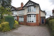 semi detached home in Knutsford Old Road...