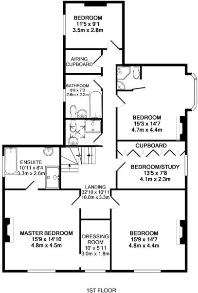 First Floor- House