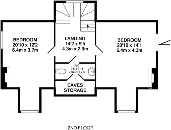 Second Floor- House